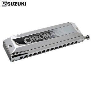 Image 1 - Suzuki SCX 56 C Series Chromatic Harmonica  Key of C 56 Brass Reeds 14 Holes Professional Quality Harp Japan Musical Instruments