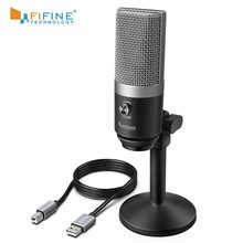 FIFINE Microfono USB per Mac del computer portatile e Computer per La Registrazione Streaming Twitch Voice over Podcasting per Youtube Skype K670(China)