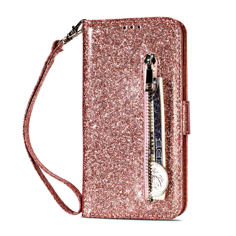 HTB1aUZSaJfvK1RjSspfq6zzXFXaF Wallet PU Leather Case For Samsung Galaxy S11 S10 E S9 S8 Plus S6 S7 Edge Note 10 Pro 8 9 Glitter Silicone Card Slot Flip Cover