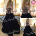 Arabia Singer Myriam Fares Dress Sweetheart With Beaded Ball Gown Floor length Tulle Celebrity Dresses