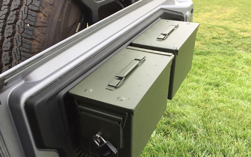 Metal Ammo Case Can Waterproof Military and Army Solid Steel Holder Box for Long-Term Bullet Valuables Storage (17)