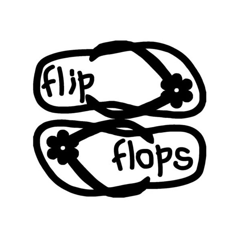 13 2cm 12cm personalized slippers flops flip funny creative car S7 Car 13 2cm 12cm personalized slippers flops flip funny creative car stickers vinyl c5 0284