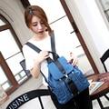 2017 spring and summer Korean women leisure bag backpack waterproof nylon oxford cloth backpack tide High capacity bags