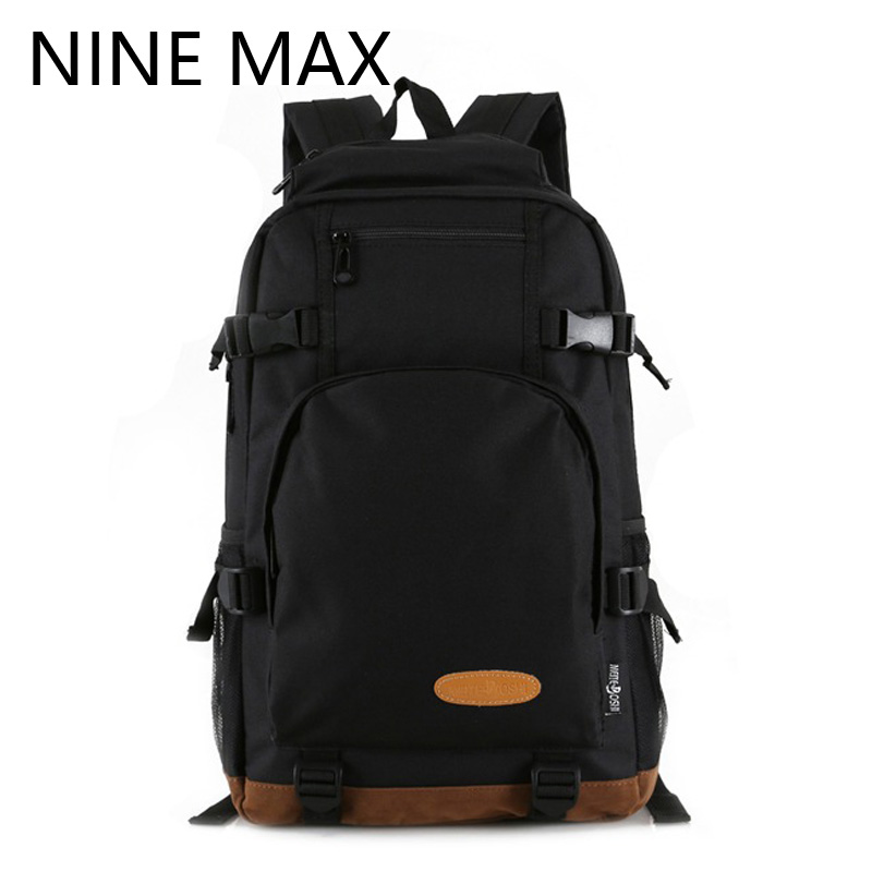 Fashion Simple Designer Leather Bottom Zipper Men's Large Canvas Backpack School Bag For Teenagers Casual Travel Backpacks Bags new gravity falls backpack casual backpacks teenagers school bag men women s student school bags travel shoulder bag laptop bags