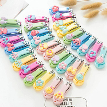 1Piece Nail Clipper Mini Cute Baby Nail Clipper Cartoon Finger Trimmer Scissors Nail Cutter With Hanging Function Keychain