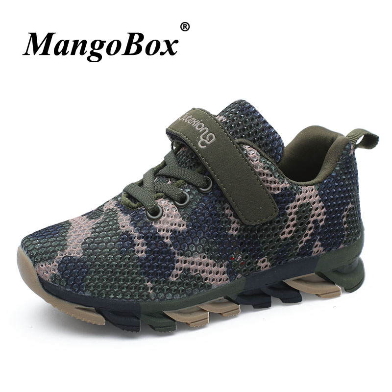 Kid Shoes Children Boys Sneakers Army Green Kid Trainers Running Boys Breathable Sport Shoes Kids Boys Designer School Shoes Boy