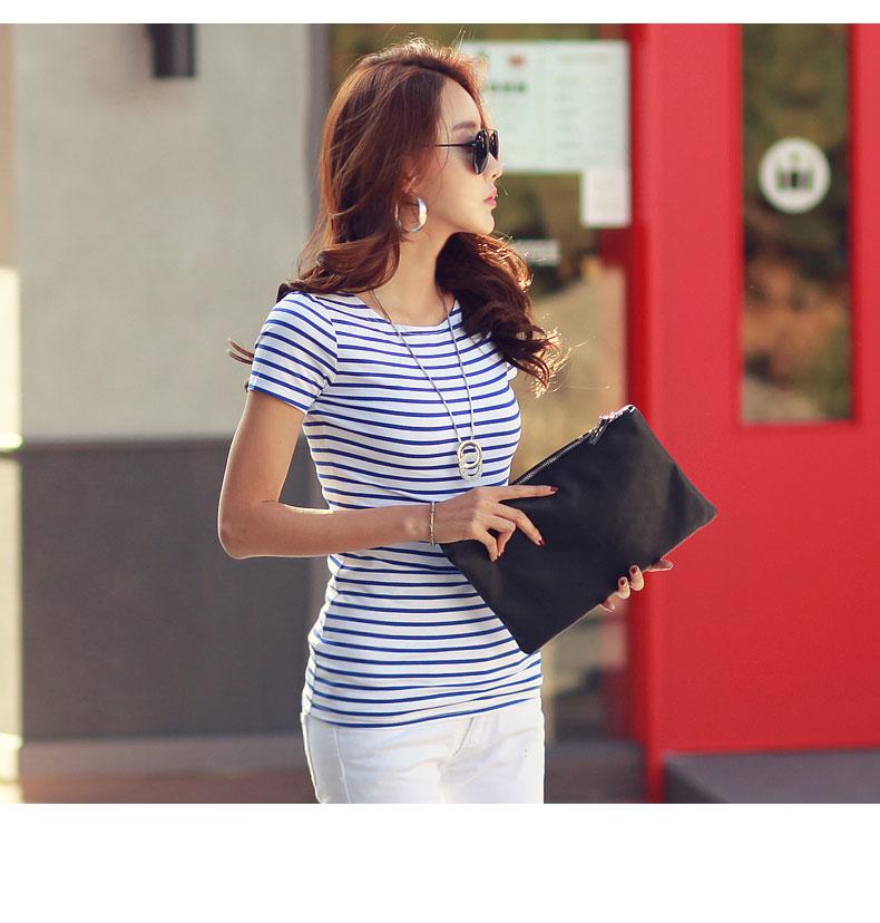 HTB1aUaSRVXXXXXXXpXXq6xXFXXX6 - Volocean Summer Casual T-shirts For Women Classic Cotton