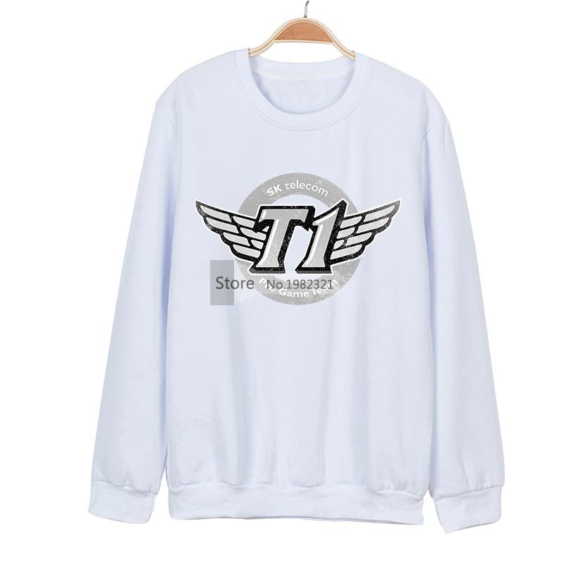 Lol Skt T1 Sweatshirt Mens Cotton Jumper Pullover Casual Hoodies Oversized Moleton Masculino Veste Homme Man Hoodie Z40