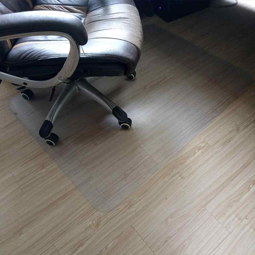 pasillo Alfombrilla antideslizante para silla de oficina o casa rectangular sal/ón dormitorio Tongdejing PVC antideslizante transparente 50 x 80 cm protector de suelo para moqueta