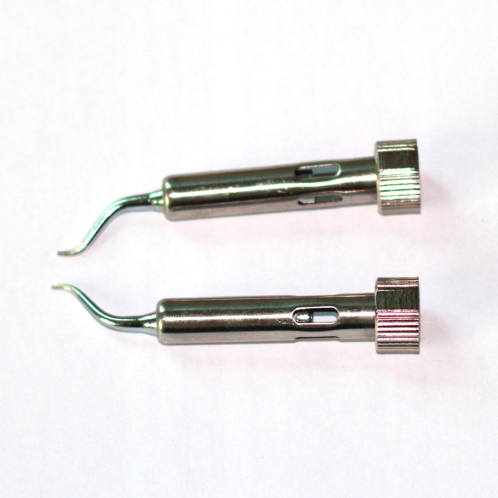 Iron tips for YIHUA 938D Portable Hot Tweezers/Mini Soldering Station 1pair