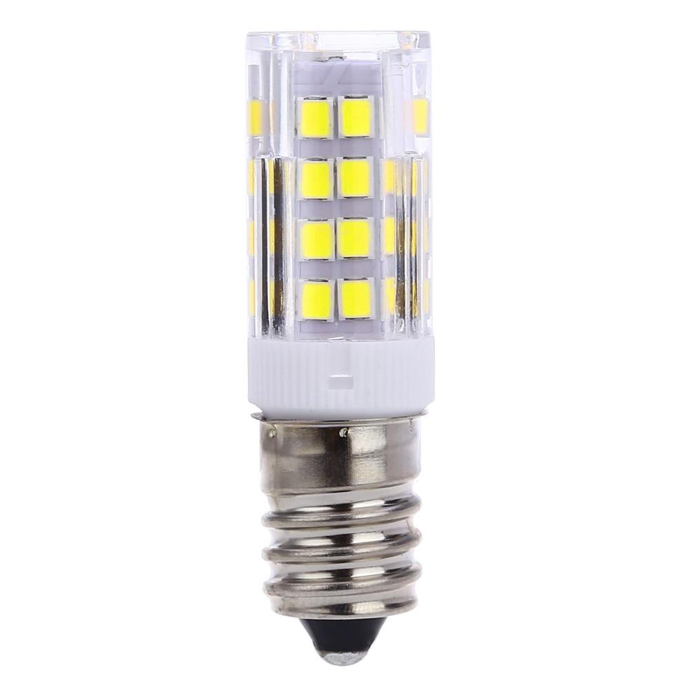 ceramic e14 led bulb for microwave oven appliance 40w halogen bulb equivalent daylight white 6000k pack of 6 led lamp bulb