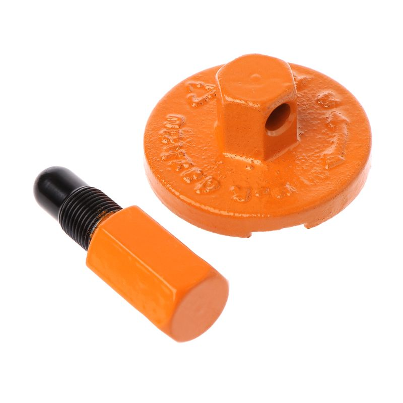 1Set Chainsaw Clutch Removal Tool Universal Piston Stopper Clutch Flywheel Drum Chain Saw Disassembly Parts Dismount Tool