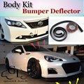 Bumper Lip Lábios Para TOYOTA 86GT FR S Para Subaru BRZ/Carro Loja de lábio Spoiler Para Carro Tuning/TOPGEAR Recomendar Body Kit + Tira