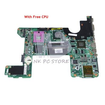 NOKOTION 496460-001 519220-001 DA0UT6MB8F0 For HP HDX16 Laptop Motherboard PM45 DDR2 9600M graphics Free CPU
