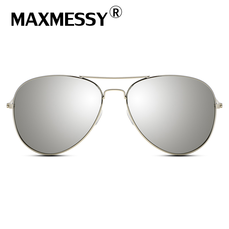 MAXMESSY Hiking Eyewear Aviator Men font b Sunglasses b font Designer Women Driver Sun Glasses Superstar