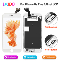 Competely High Quality LCD For iPhone 6S plus LCD Display Home button+Front camera+3D touch Touch Screen Digitizer Assembly
