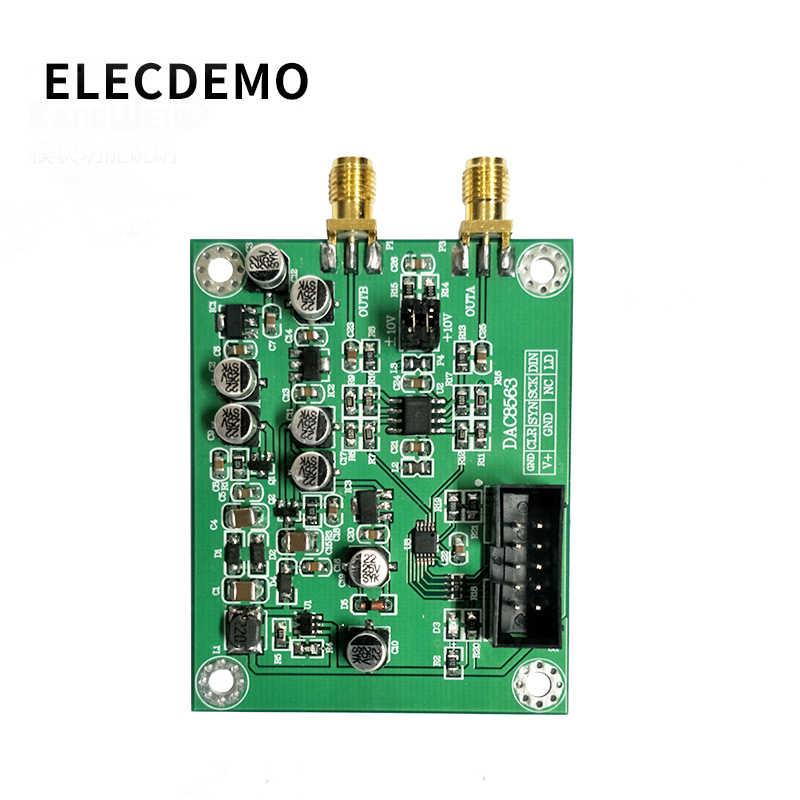 DAC8563 dijital analog dönüştürme modülü veri toplama modülü çift 16 bit DAC ayarlanabilir ± 10V gerilim