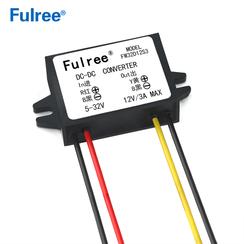 12V 14V <font><b>15V</b></font> 18V 24V (5-32V) to 12V 1A 2A 3A <font><b>DC</b></font> <font><b>DC</b></font> Boost Buck Power Converter Automatic Step Up Down Voltage Regulator Stabilizer image