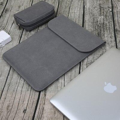 Новая сумка для ноутбука с эффектом потертости для Macbook Air 13 Pro retina 11 12 14 15 чехол для Xiaomi 13,3 15,6 Модный чехол для ноутбука - Цвет: dark gray sets