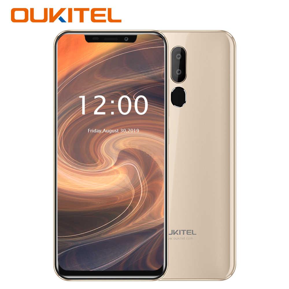 Горячая Распродажа OUKITEL C12 Pro 4G смартфон Face ID 6,18 дюймов 19:9 u-образный дисплей Android 8,1 2 Гб ОЗУ 16 Гб ПЗУ 3300 мАч мобильный телефон