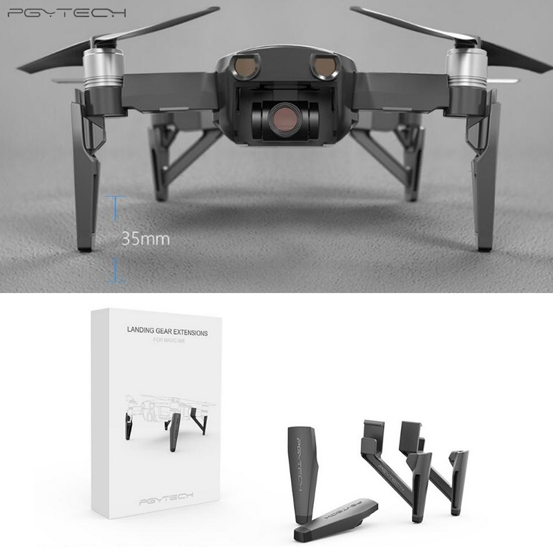 PGYTECH Extended Landing Gear For DJI Mavic Air Leg Support Protector Extension Replacement Fit for DJI Mavic AIR  Accessories