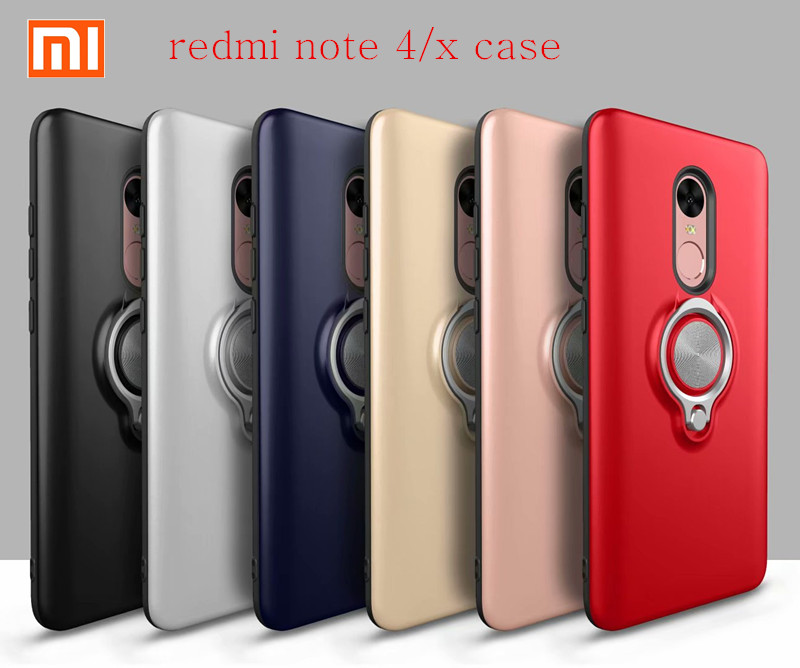 Xiaomi Adsorption-The-Case Ring Note 4x-Cover-Case Global-Version for Redmi