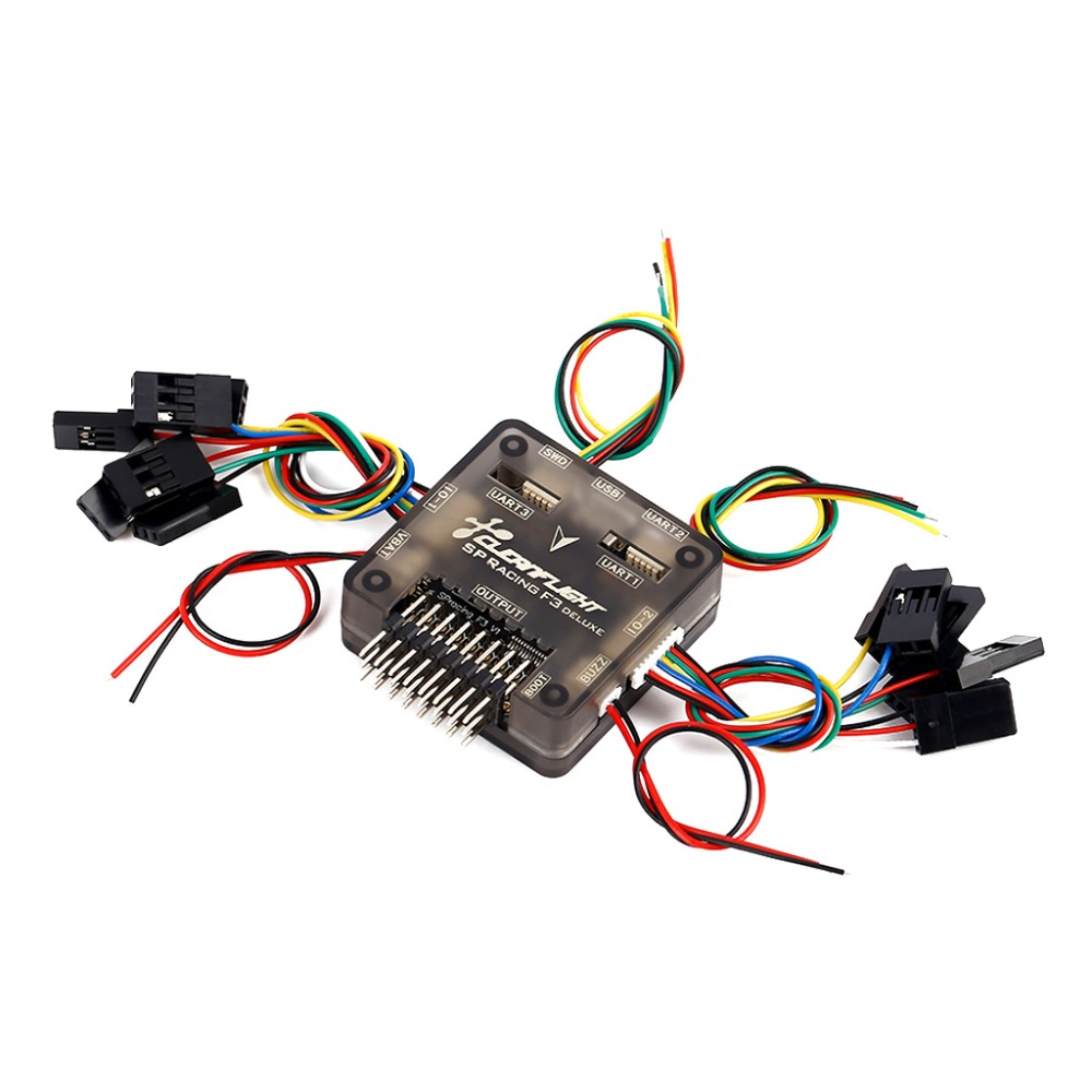Clean Flight Deluxe SP Racing F3 10 DOF Flight Controller Board For RC Aircraft