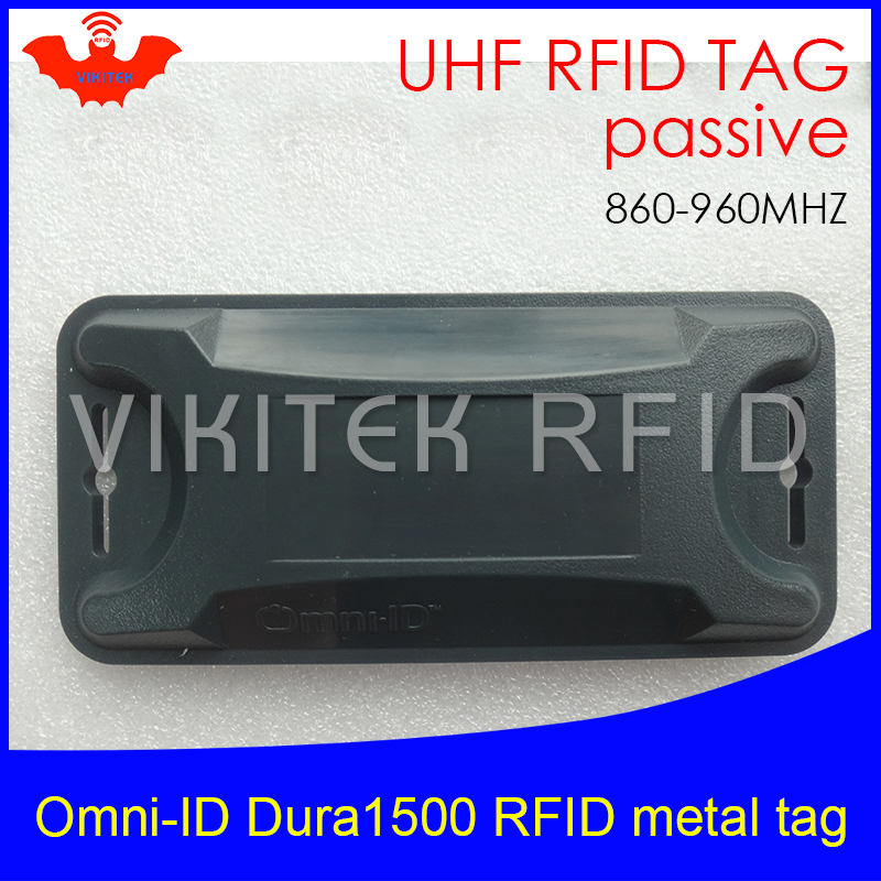 UHF RFID anti-metal tag omni-ID Dura 1500 dura1500 915mhz 868m Alien Higgs3 EPCC1G2 6C durable ABS smart card passive RFID tags uhf rfid metal tag 915mhz 868mhz alien higgs3 epcc1g2 6c 53 13 2 8mm fixed assets management pcb smart card passive rfid tags