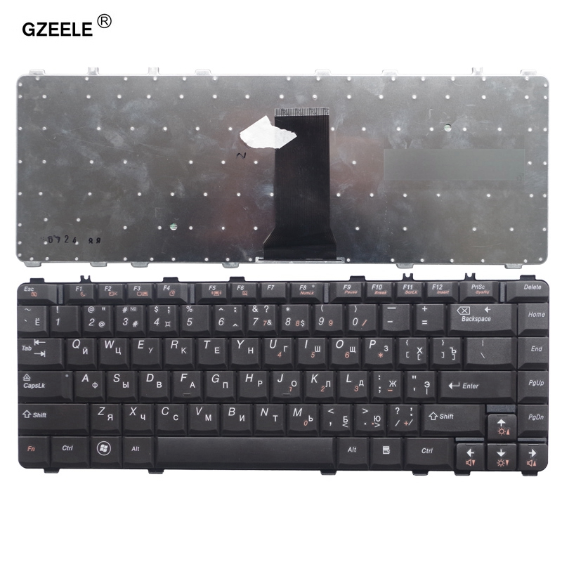 GZEELE New Laptop Keyboard For LENOVO Y450 Y450A Y450G Y550 Y550A B460 Y460 20020 Y560 Y560A B460 B460A RU Russian Keyboard