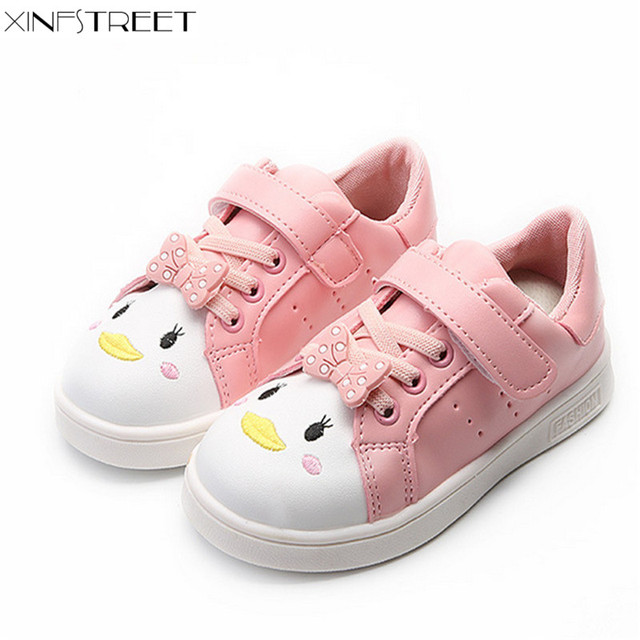 60b50dafd1f7 Xinfstreet Kids Girls Shoes Cute Cartoon Printed Breathable Children Casual Shoes  Toddler Infant Girls School Shoes Size 21-30