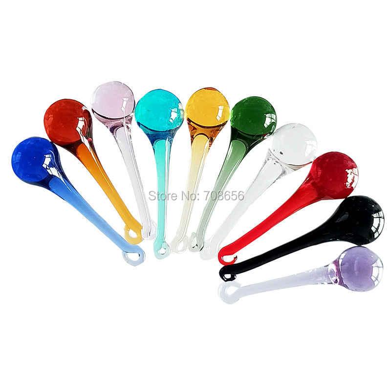 20 шт смешанных цветов 80 мм * 25 мм призмы капли воды Хрустальная люстра в виде капли дождя, стеклянная лампа части