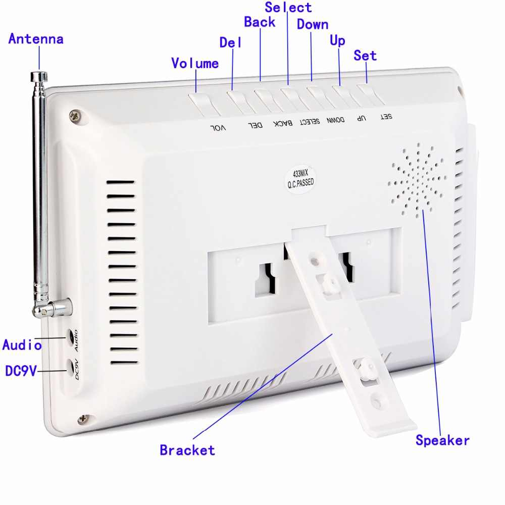 Retekess-sistema de llamadas inalámbrico F3290D para restaurantes, buscapersonas, pantalla, sistema de transmisión por voz