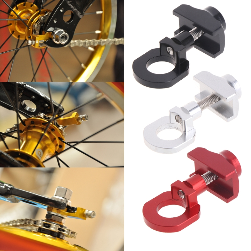 Bicycle Bike Chain Tensioner Adjuster Aluminum MTB BMX Upkeep Folding Fastener