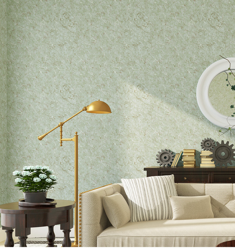 Solid Peel and Stick Wallpaper Roll Non woven Wall Paper for Kids Living Room Background Wallcoverings Home Improvement 10M