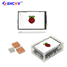 Buy Raspberry Pi 3 LCD 3.5 inch Touchscreen Display Module + Acrylic Case + Copper Aluminum Heat Sink for Raspberry Pi