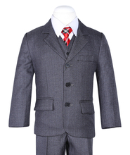 new fashion high quality three pcs coat+vest+pant formal boys wedding suit 788-6