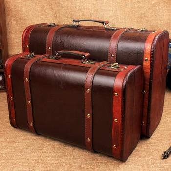 2PCS/set Storage Box Wooden Box Makeup Storage Organizer Cajas organizadoras Boite de rangement Joyeria Caixa Cosmetic organizer