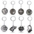 Game Of Thrones KeyChain Metal Key Chain Pendant Key Ring For Men Women Porte clef key holder
