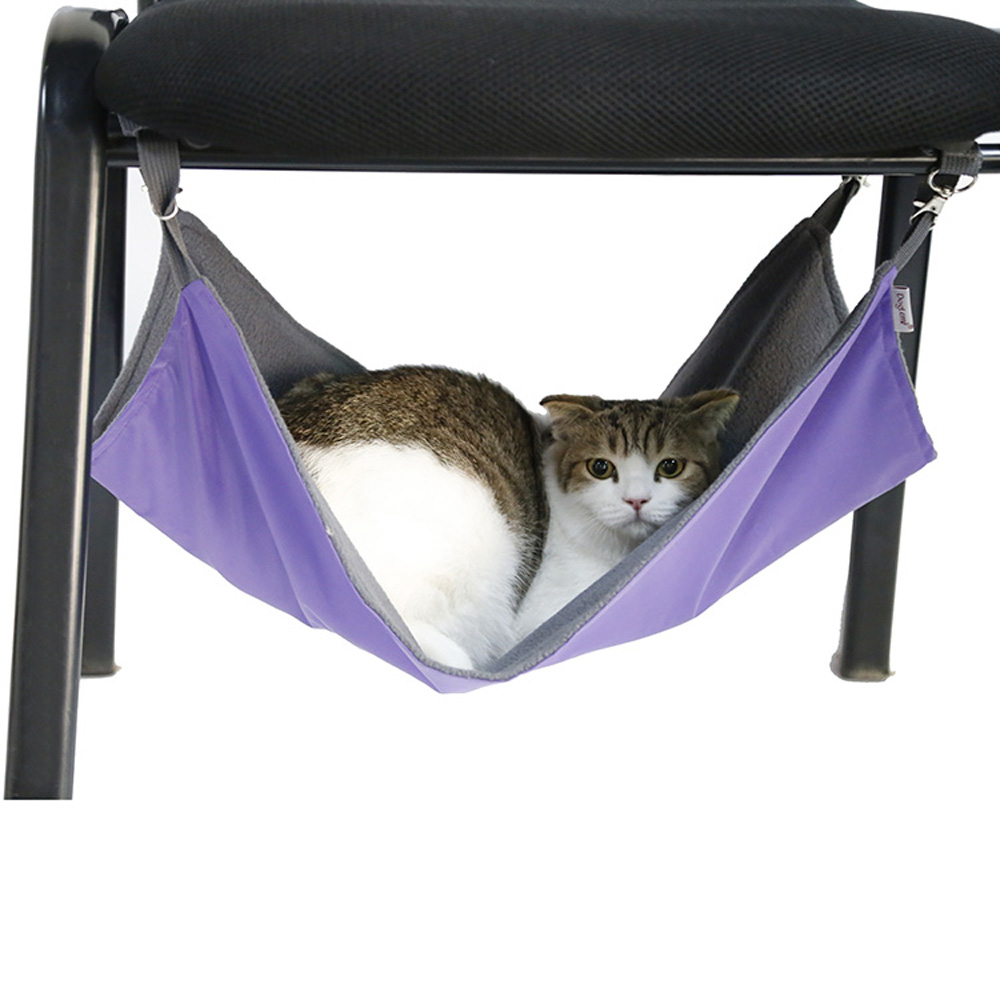 38cm Soft Hanging Pet Bed For Pet Cat Elegant In Style Cat Supplies Pet Products Dadypet Multi-functional Reversible Ferret Cat Hammock Waterproof Cage Hammock 53