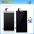 100%Guarantee Replacement parts For Huawei G6 LCD display with Touch screen Digitizer Assembly with free tools black white color