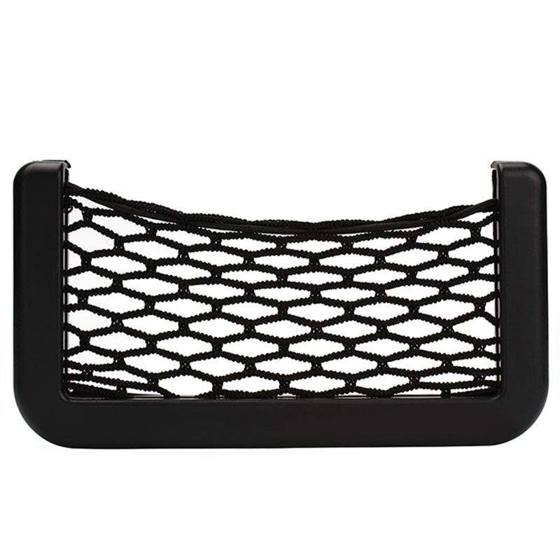2015 Nuovo Car Storage Net Automotive Pocket Pouch Adesivo Scatola visiera Accessori auto per telefono cellulare Holder #iCarmo