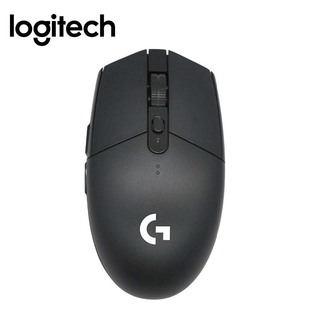 Souris de jeu sans fil Logitech G304 Lightspeed 6 touches programmables Interface USB 12000 DPI compatible système Windows/Mac OS