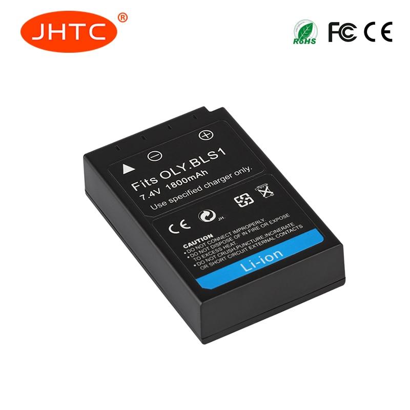 JHTC 1 pc 1800 mAh PS-BLS1 BLS-1 BLS1 Batterie pour Olympus OLY. EP2 EPL1 EPL2 EP1 BLS5 E-400 EVOLT E-410 EVOLT E410 E-420 E-410 E-