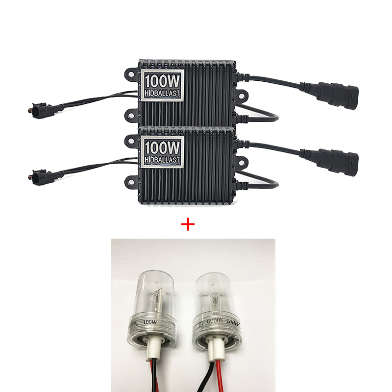 DUU 100W Ballast kit HID Xenon Light bulb 12V H1 H3 H7 H11 9005 9006 4300k 5000k 6000k 8000k Auto Xeno Headlight Lamp duu 2pc h1 h3 h7 h11 9005 9006 d2s 12v 35w hid xenon bulb auto car headlight replacement lamp 4300k 5000k 6000k 8000k 10000k 120