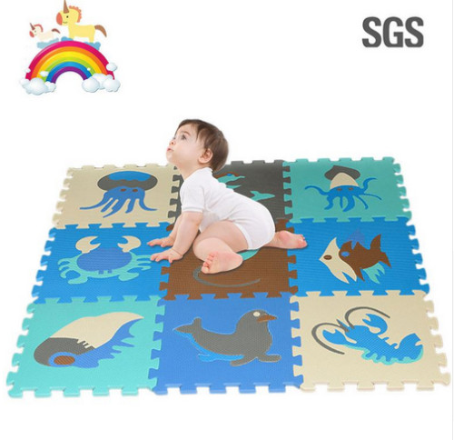 9Pcs Soft EVA Foam Pad Alphabet Letters Numbers Floor Blacks Soft Baby Foam Mat 3d Educational Puzzle Toys For Baby Games