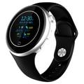 Presentes de luxo rodada toque smart watch esporte smartwatch mtk2502 empurre mensagem do bluetooth anti perdeu para a apple ios android sumsung