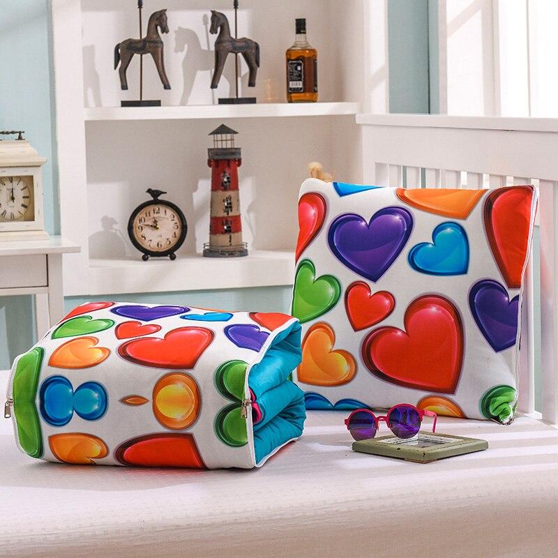 Cojines Manta algodón, diseño elegante, almohadas multifuncionales
