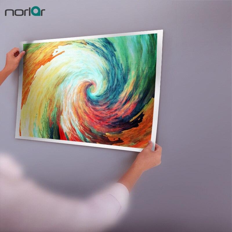 Chromatic Spiral Art Canvas Print
