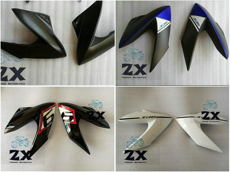 Carénages D'injection Pour YAMAHA XJ6 Yamaha XJ6 2009-2012 09 10 11 12 vie et droit ZXMT noir mat carrosserie Carénage