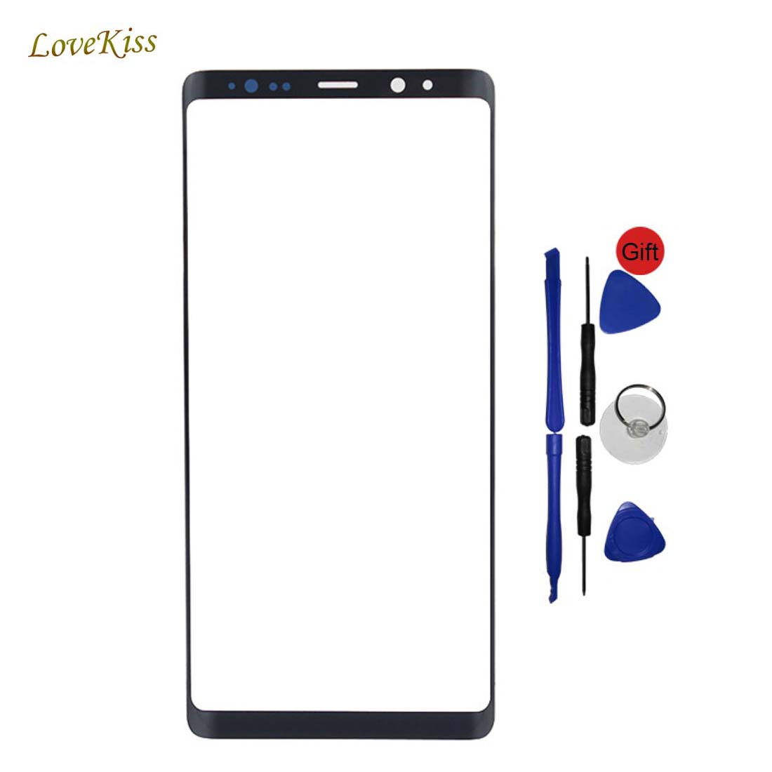 Black Touch Screen Panel For Samsung Galaxy Note 8 Note8 N950 N950F Touchscreen Outer Front Glass Replacement Tools